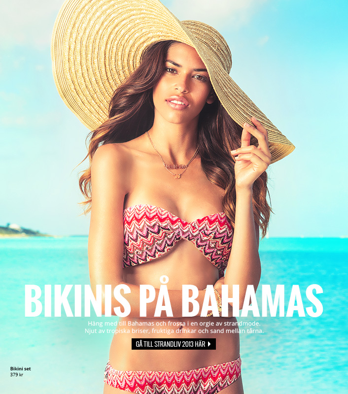 Bikinis i Bahamas